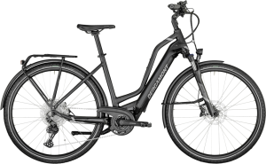 Bergamont E-Horizon Expert Amsterdam black - anthracite/black/chrome (matt/shiny) - 52 cm