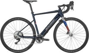 Bergamont E-Grandurance Elite - midnight blue/chrome (shiny) - 57 cm